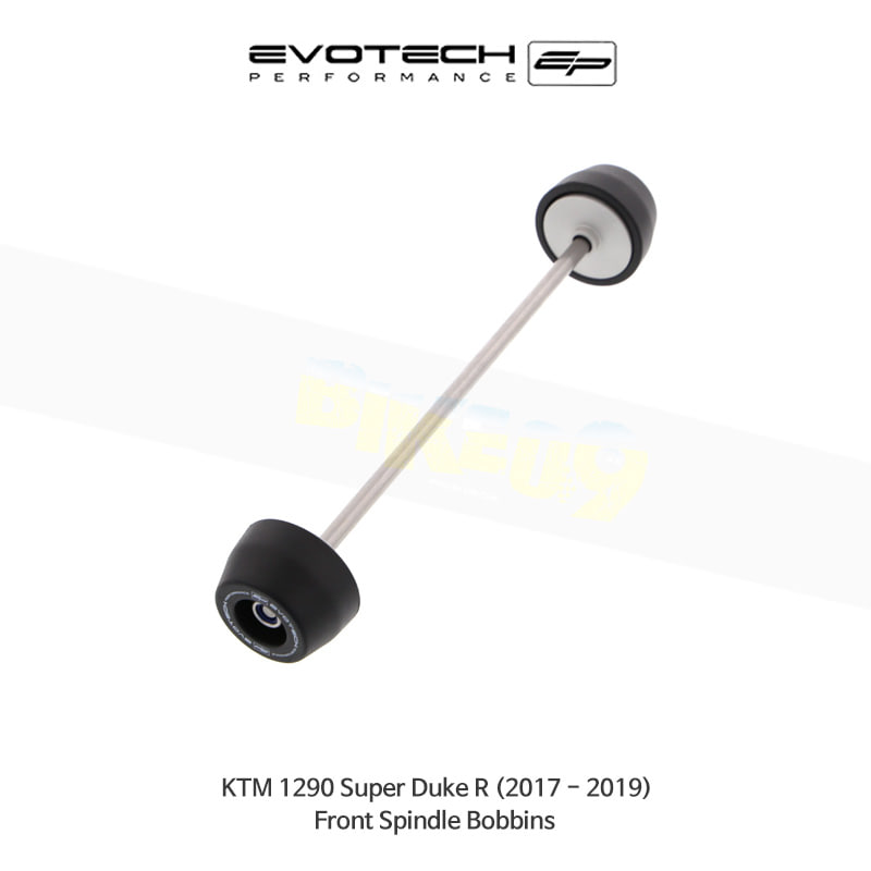 에보텍 KTM 1290슈퍼듀크 R 프론트휠포크슬라이더 2017-2019 PRN012149-04