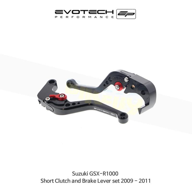 에보텍 SUZUKI 스즈키 GSXR1000 숏클러치브레이크레버세트 2009-2011 PRN002399-002867-12
