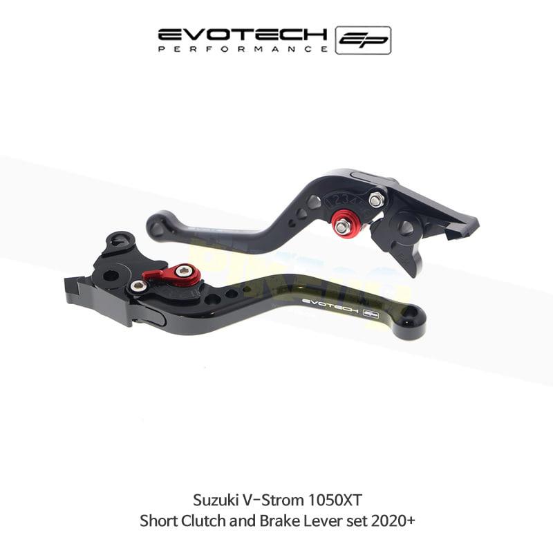 에보텍 SUZUKI 스즈키 브이스톰1050XT 숏클러치브레이크레버세트 2020+ PRN002446-002447-10