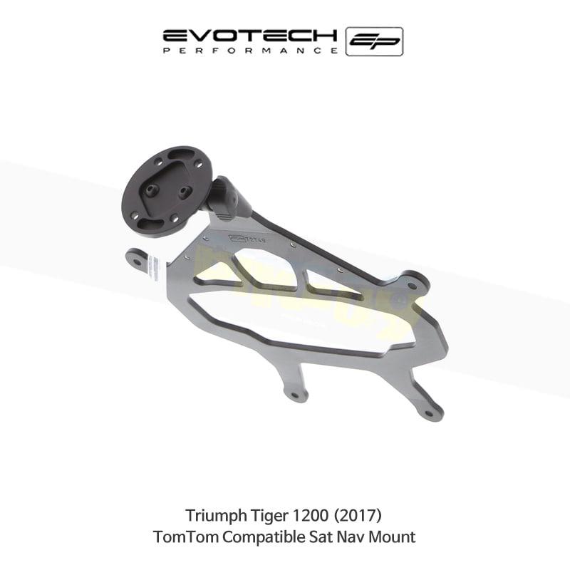 에보텍 TRIUMPH 트라이엄프 타이거1200 TomTom 네비게이션 마운트 2017 PRN014516-014567-08