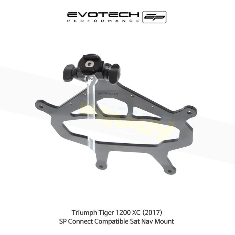 에보텍 TRIUMPH 트라이엄프 타이거1200 XC SP Connect 네비게이션 마운트 2017 PRN014516-014677-09