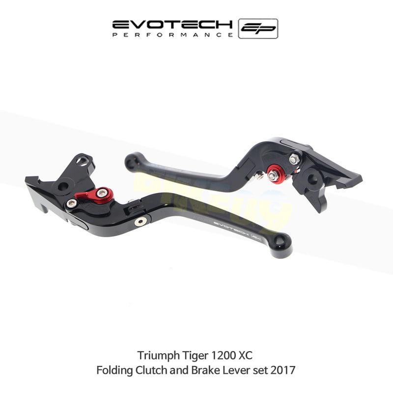 에보텍 TRIUMPH 트라이엄프 타이거1200 XC 접이식클러치브레이크레버세트 2017 PRN002451-003233-09