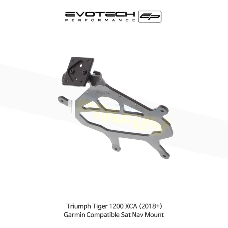 에보텍 TRIUMPH 트라이엄프 타이거1200 XCA Garmin 네비게이션 마운트 2018+ PRN014516-014566-05