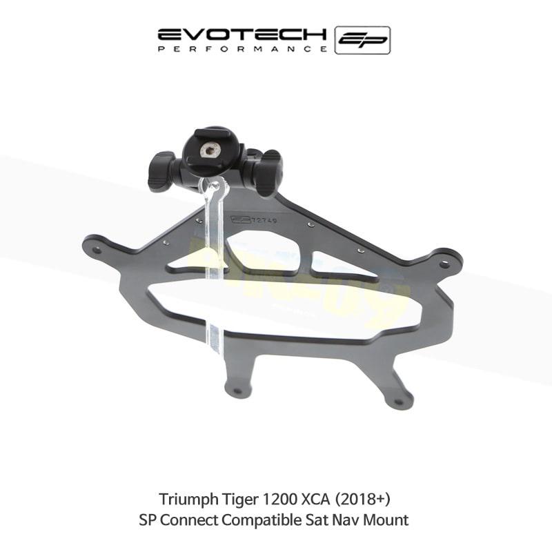 에보텍 TRIUMPH 트라이엄프 타이거1200 XCA SP Connect 네비게이션 마운트 2018+ PRN014516-014677-04