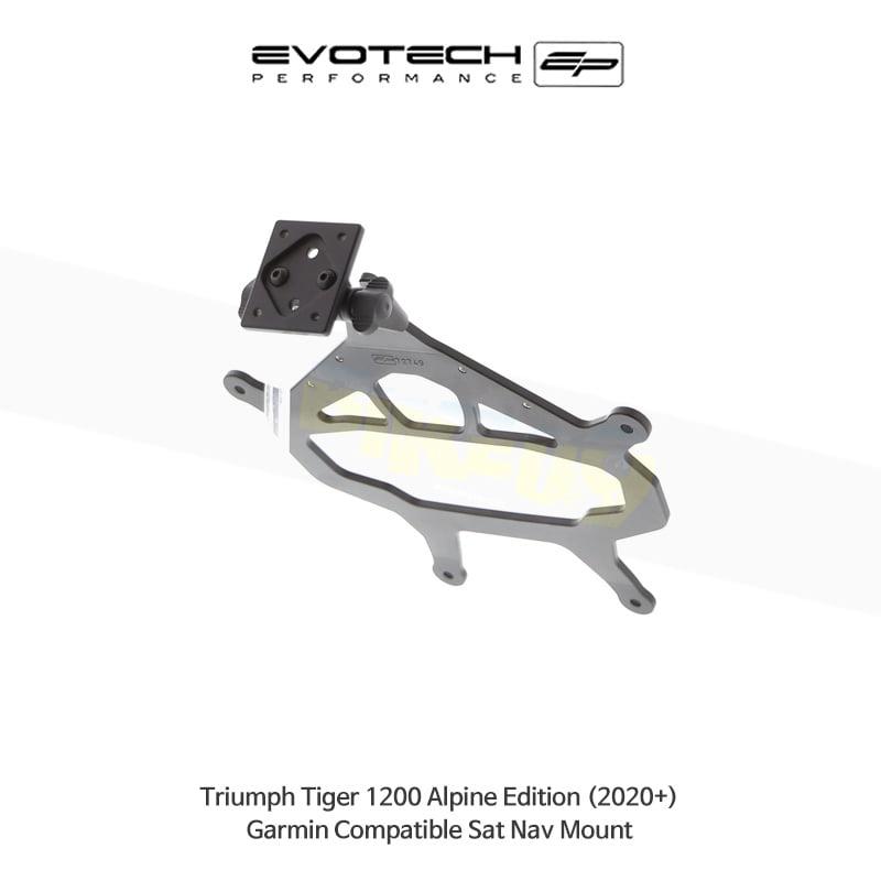 에보텍 TRIUMPH 트라이엄프 타이거1200 Alpine Edition Garmin 네비게이션 마운트 2020+ PRN014516-014566-11