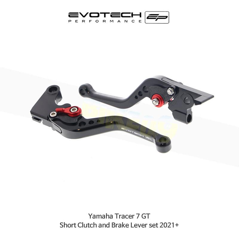 에보텍 YAMAHA 야마하 트레이서7 GT 숏클러치브레이크레버세트 2021+ PRN002404-002448-19