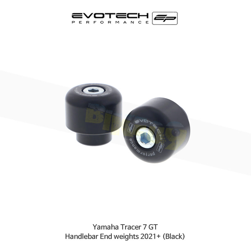 에보텍 YAMAHA 야마하 트레이서7 GT 핸들바엔드 2021+ (Black) PRN013373-03