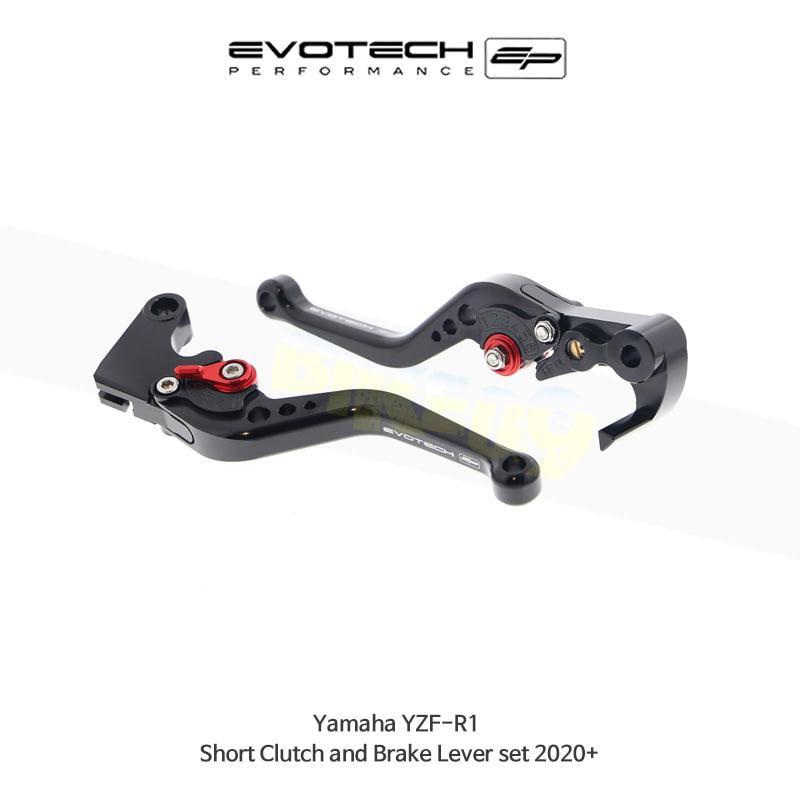 에보텍 YAMAHA 야마하 YZF R1 숏클러치브레이크레버세트 2020+ PRN002404-003904-03