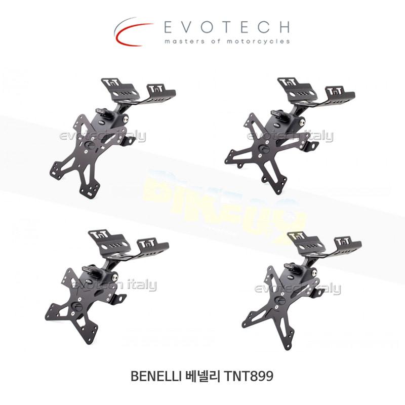 에보텍 BENELLI 베넬리 TNT899 번호판 플레이트