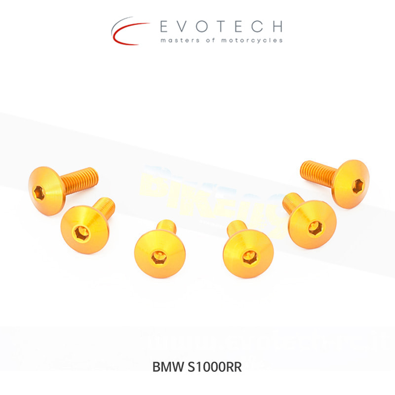 에보텍 BMW S1000RR (09-14) 스크린 볼트 킷 034