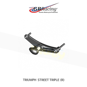 GB레이싱 엔진가드 프레임 슬라이더 트라이엄프 BULLET 스트리트 트리플675/R 리플레이스먼트- RIGHT 핸드 사이드 ONLY - 스트리트