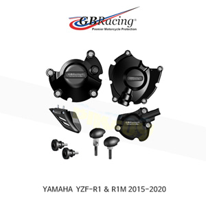 GB레이싱 엔진가드 프레임 슬라이더 야마하 YZF-R1/M 모터사이클 프로텍션 BUNDLE (15-20) CP-R1-2015-CS-GBR