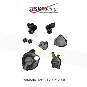 GB레이싱 엔진가드 프레임 슬라이더 야마하 YZF-R1 모터사이클 프로텍션 BUNDLE (07-08) CP-R1-2007-CS-GBR