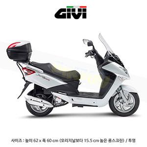 GIVI 기비 윈드스크린 SYM 조이라이드 Evo 125/200 (09-19) - D651ST