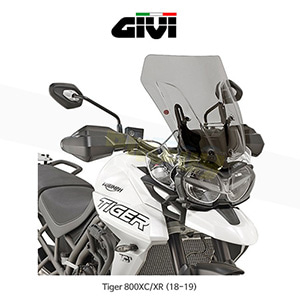 GIVI 기비 윈드스크린 트라이엄프 TRIUMPH 타이거800XC/XR (18-19) - D6413S 스모크