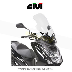 GIVI 기비 윈드스크린 야마하 YAMAHA 마제스티S (S-Max) 125 (14-17) - 2121DT+D2121KIT