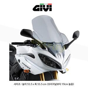 GIVI 기비 윈드스크린 야마하 YAMAHA FZ8-S (10-15) - D448S (스모크)