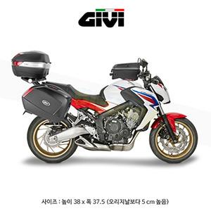 GIVI 기비 윈드스크린 혼다 HONDA CBR650F(전용) (14-16) - D1138S smoked with logo Team GIVI-LCR