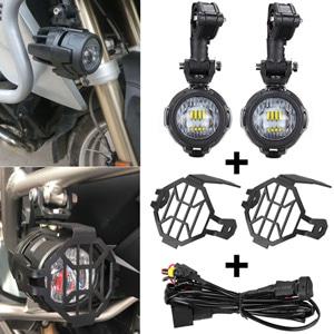 오토바이 안개등 LED 브라켓 스위치 장착배선 브라켓 BMW 전차종