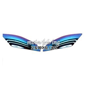 헤드라이터 프로텍터 야마하 YZF R6 YZF-R6 YZFR6 06-07년식 이리듐스모크35