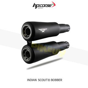 인디안 SCOUT® BOBBER V2 블랙 HP코르세 아크라포빅 머플러 XINDV21001BG-AAB
