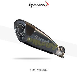 KTM 790듀크 EVOXTREME310 블랙 HP코르세 아크라포빅 머플러 KTEVO3179DB-AB