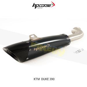KTM 390듀크 EVOXTREME260 블랙 HP코르세 아크라포빅 머플러 XKTEVO2639B-AB