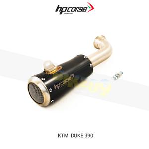 KTM 390듀크 GP07 블랙 HP코르세 아크라포빅 머플러 XKTGP1039BR-AB