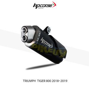 트라이엄프 타이거800 (18-19) 4트랙R 블랙 HP코르세 아크라포빅 머플러 TR4TR800C-AB