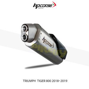 트라이엄프 타이거800 (18-19) 4트랙R SATIN HP코르세 아크라포빅 머플러 TR4TR800S-AB
