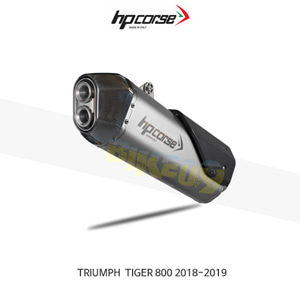 트라이엄프 타이거800 (18-19) SPS 카본 SATIN HP코르세 아크라포빅 머플러 TRSPS800S-AB