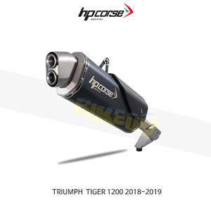 트라이엄프 타이거1200 (18-19) 4트랙R 블랙 HP코르세 아크라포빅 머플러 TR4TR1200C-AB