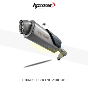 트라이엄프 타이거1200 (18-19) 4트랙R SATIN HP코르세 아크라포빅 머플러 TR4TR1200S-AB