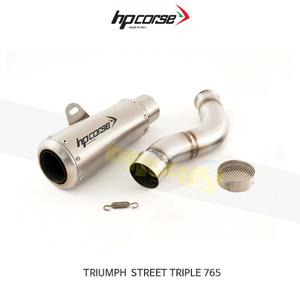 트라이엄프 스트리트 트리플765 GP07 SATIN HP코르세 아크라포빅 머플러 XTRGP1017SR-AB