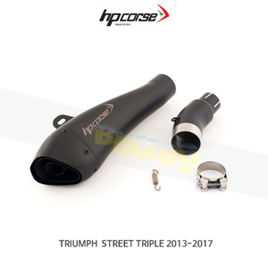 트라이엄프 스트리트 트리플 (13-17) HYDROFORM 블랙 HP코르세 아크라포빅 머플러 TRHY1001BLACK-AG
