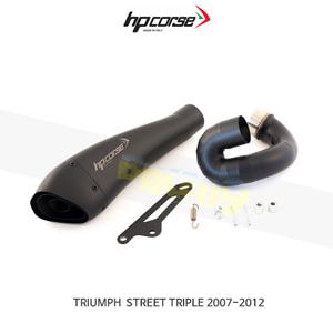 트라이엄프 스트리트 트리플 (07-12) HYDROFORM 블랙 HP코르세 아크라포빅 머플러 TRHY1001BLACK-AD