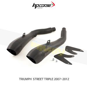 트라이엄프 스트리트 트리플 (07-12) HYDROFORM 블랙 HP코르세 아크라포빅 머플러 TRHY1001BLACK-AB