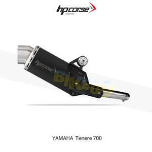 야마하 테네레700 4트랙R SHORT 블랙 HP코르세 아크라포빅 머플러 YA4TRS7001C-AB