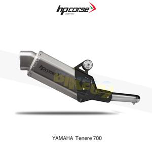 야마하 테네레700 4트랙R SHORT SATIN HP코르세 아크라포빅 머플러 YA4TRS7001S-AB