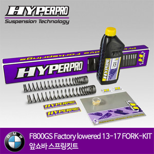 BMW F800GS Factory lowered 13-17 FORK-KIT 앞쇼바 스프링킷트 올린즈 하이퍼프로