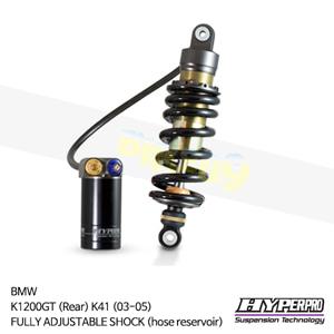 BMW K1200GT (Rear) K41 (03-05) FULLY ADJUSTABLE SHOCK (hose reservoir) 하이퍼프로