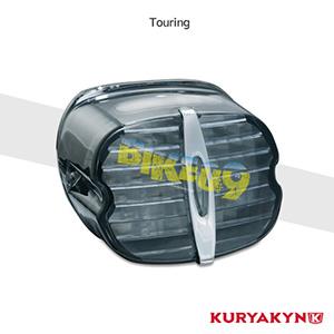 쿠리야킨 할리 튜닝 부품 투어링 (88-19) Deluxe ECE L.E.D. Taillight, Smoke with License Illumination LED 테일라이트 깜빡이 5464