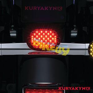 쿠리야킨 할리 튜닝 부품 스포스터 (89-19) Low Profile ECE L.E.D. Taillight, Red with License Illumination, Red LED 테일라이트 깜빡이 5466