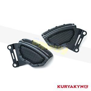 쿠리야킨 할리 튜닝 부품 투어링 (08-19) Mesh Front Caliper Cover, Satin Black 프론트 리어 캘리퍼 커버 6539