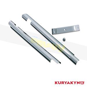 쿠리야킨 할리 튜닝 부품 소프테일 (00-06) Downtube Covers, Chrome 프론트 리어 캘리퍼 커버 7853