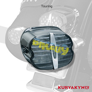 쿠리야킨 할리 튜닝 부품 투어링 (05-19) Deluxe ECE L.E.D. Taillight, Smoke without License Illumination LED 테일라이트 깜빡이 5465