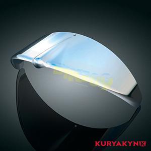 쿠리야킨 할리 튜닝 부품 할리범용 Headlight Visor, Chrome 프론트 리어 캘리퍼 커버 2182