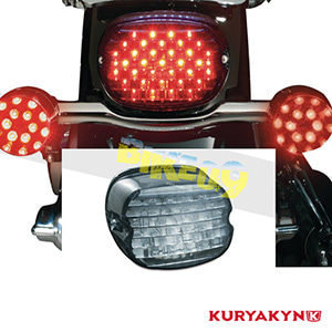 쿠리야킨 할리 튜닝 부품 투어링 (05-19) Low Profile ECE L.E.D. Taillight, Smoke without License Illumination, Smoke LED 테일라이트 깜빡이 5469