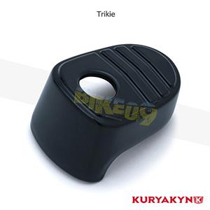 쿠리야킨 할리 튜닝 부품 Trikie (14-19) Tri-Line Ignition Switch Cover, Gloss Black 이너 페어링 6985