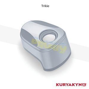 쿠리야킨 할리 튜닝 부품 Trikie (14-19) Sculpted Ignition Switch Cover, Chrome 이너 페어링 6992